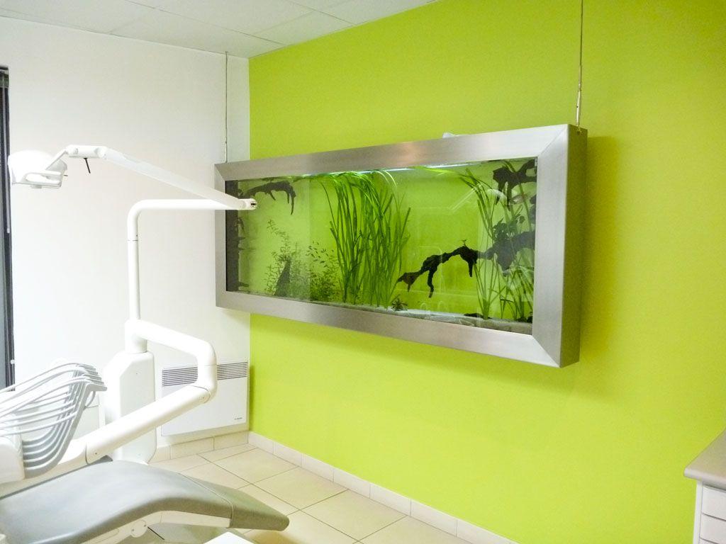tableau aquarium suspendu NEMO 240, dentiste, LILLE